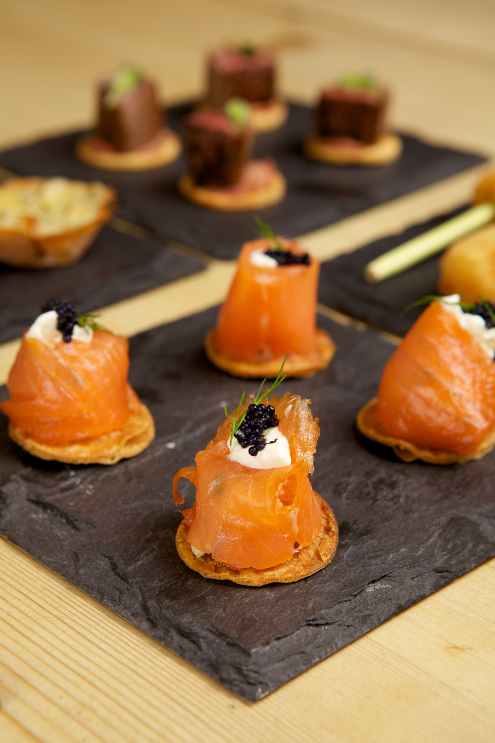About cherry picked catering for Canape reception